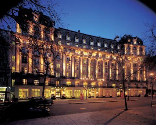 5* London break staying at Waldorf Hilton