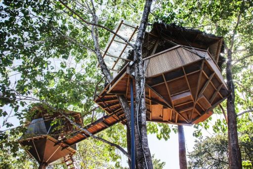 Rainforest Treehouse in Costa Rica
