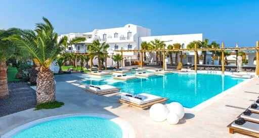 Luxus auf Santorini