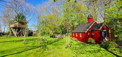 Overnachten in een knus kapelletje in Friesland