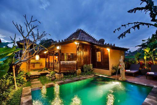 Overnacht in een luxe villa op Bali voor een spotprijs