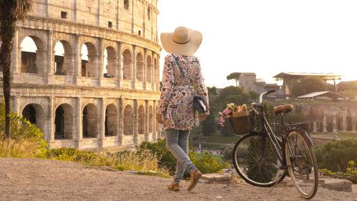 Vols A/R pour Rome à prix mini