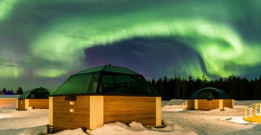 Scandic Nights: Zum Nordlichtzauber im Glasiglu