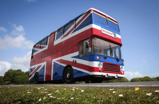 Stay in the Spice World Bus