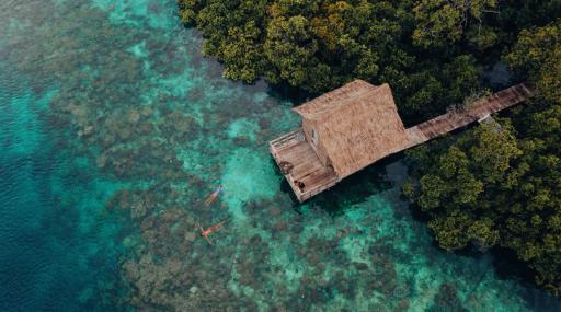 Prywatne wyspy na Airbnb