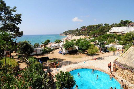 3 a 7 noches en casa móvil para 4 a pie de playa en la Costa Brava