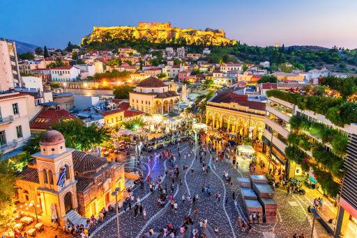 Lang weekendje Athene