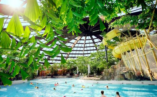 Tropische sferen bij Center Parcs de Huttenheugte