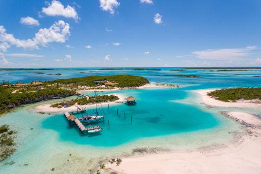 Wyspy na Bahamach na sprzedaż