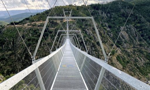 El puente peatonal más largo del mundo