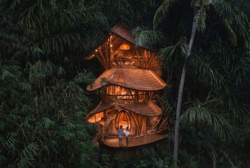 Discover the most beautiful treehouses around the world