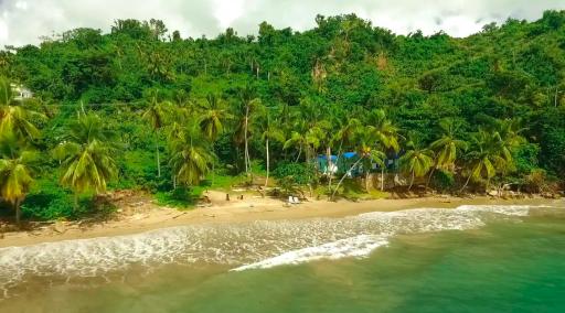Cabane sur la plage en République Dominicaine