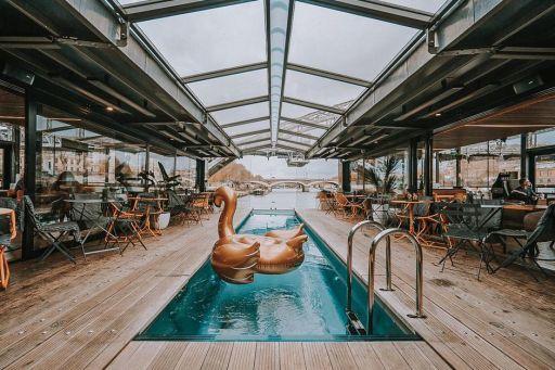 Hôtel 4* flottant à Paris