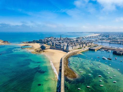 Hôtel en bord de mer à Saint-Malo
