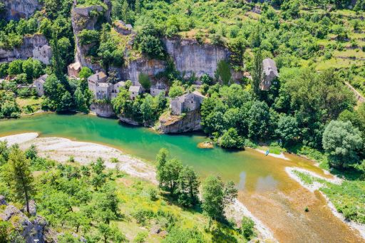Les Gorges du Tarn, entre Aveyron et Lozère