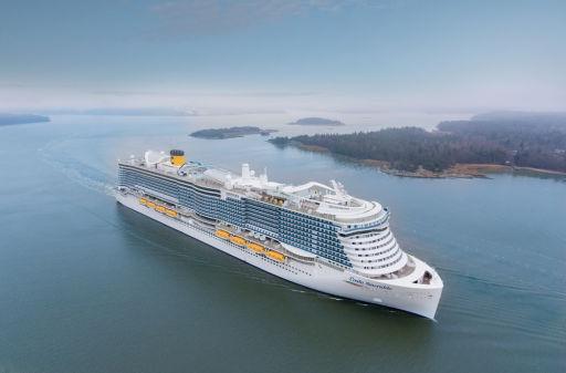 7nts italy, France & Spain full-board cruise