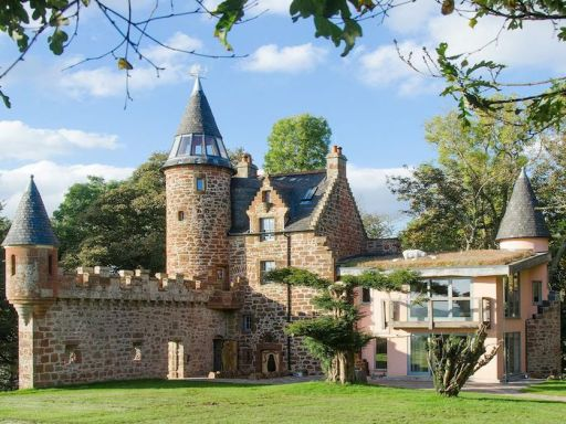 This is the castle we're booking now group getaways are back on the cards...AND it has a hot tub!