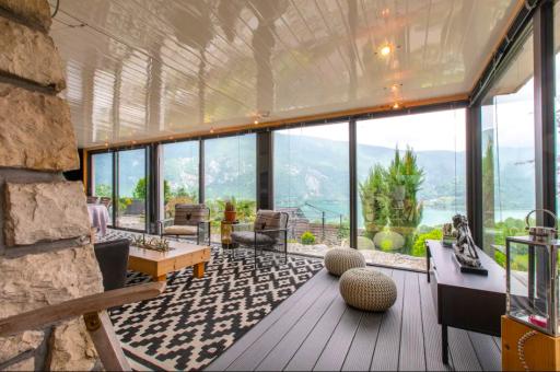 Airbnb incroyable au lac d'Aiguebelette