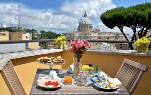 Geniet in hartje Rome met een dakterras