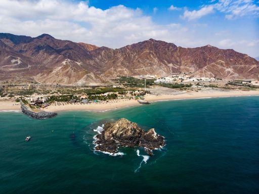 Luxusurlaub mit direkter Strandlage in Fujairah
