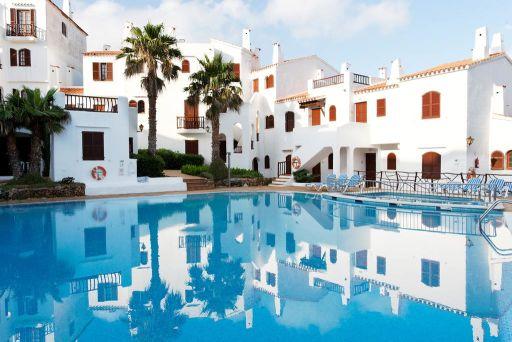 Vacaciones en aparthotel en Menorca