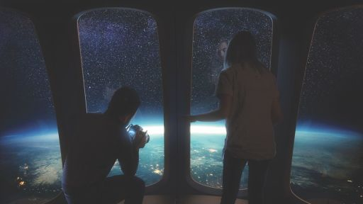 Travel to Space in a Balloon