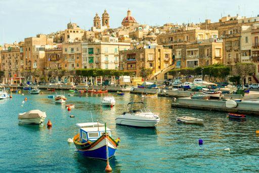 Vuelos directos a Malta