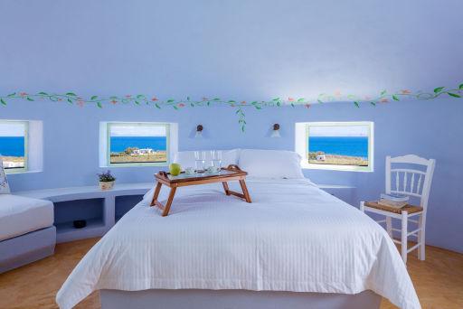 Atemberaubende Windmühlen-Villa auf Santorini