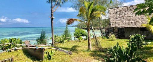 Hébergement les pieds dans l'eau à Zanzibar