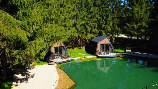 Magnifique resort aux lacs de Plitvice