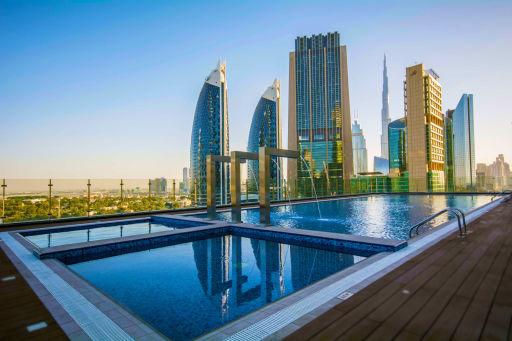 Hôtel le plus haut du monde à Dubaï