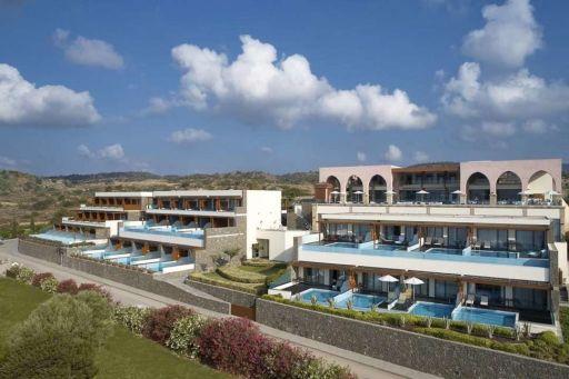 Grieks boetiekhotel met privézwembad op Rhodos