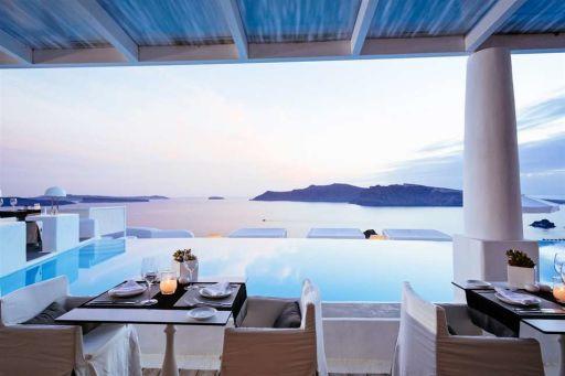 Het mooiste resort van Santorini