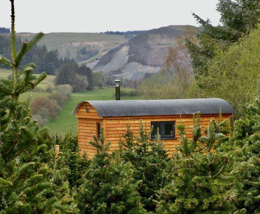 Romantic 3 nts stay on a Christmas tree farm in Wales w/hot tub