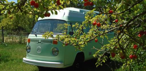 Séjour peace & love en combi Volkswagen