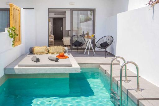 Het luxe Casa Cabana Hotel & Suites op Rhodos