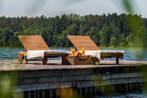 Mazurski raj SPA z wyżywieniem na brzegu jeziora