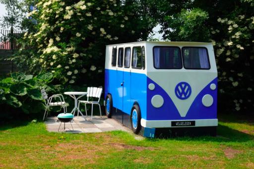 Lekker weg in uniek VW busje