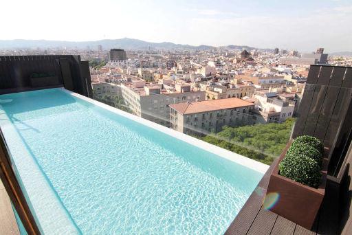 Barcelona met een view