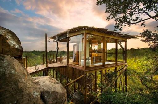 Les plus beaux lodges d'Afrique du Sud