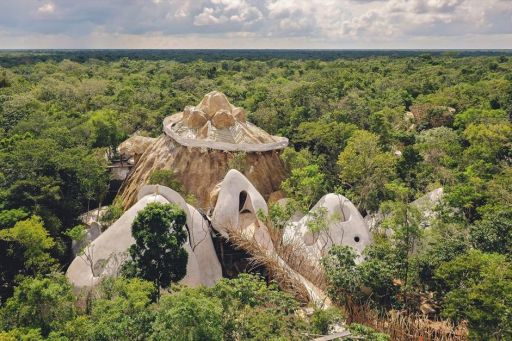 Take us to this magical Mayan treehouse resort in Tulum right now