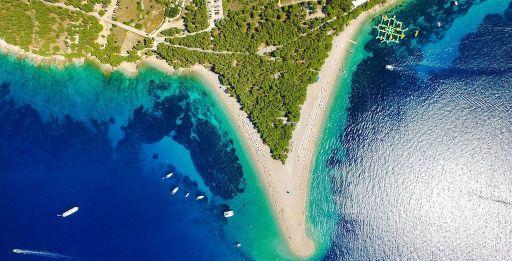 Am schönsten Strand Kroatiens