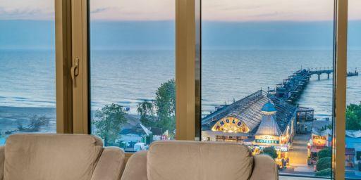 4* luksus wellness nad Bałtykiem z widokiem na molo