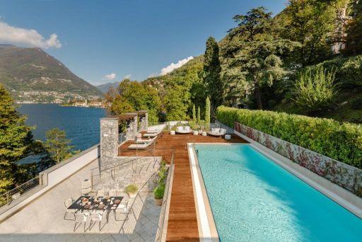 Hôtel 5* avec vue panoramique sur le lac de Côme