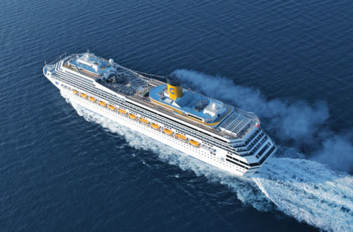 2-week mega cruise with meals included