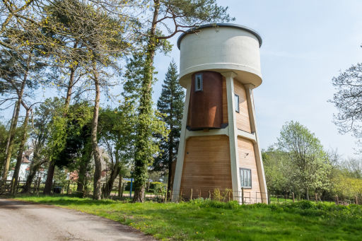 2-night stay in a unique water tower in Warwickshire