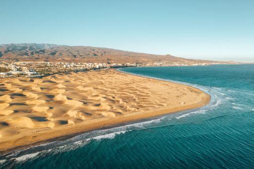 Unter sich auf Gran Canaria am Dünenstrand!