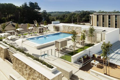 Hôtel avec piscine à Rome