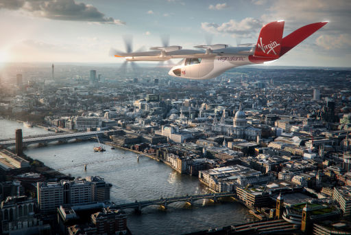Virgin Atlantic aims for zero emissions UK air travel in new partnership with Vertical Aerospace