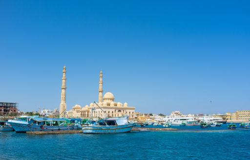 Le soleil de l'Egypte en hiver